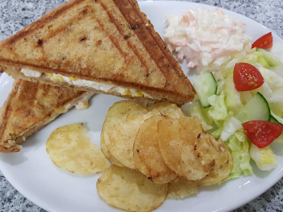 Chicken & Sweetcorn Toastie