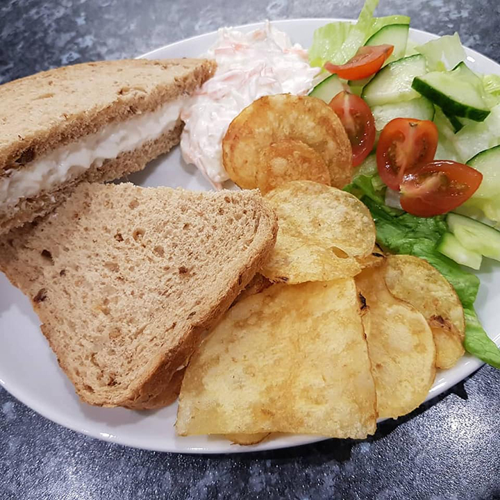North Atlantic Prawn Sandwich